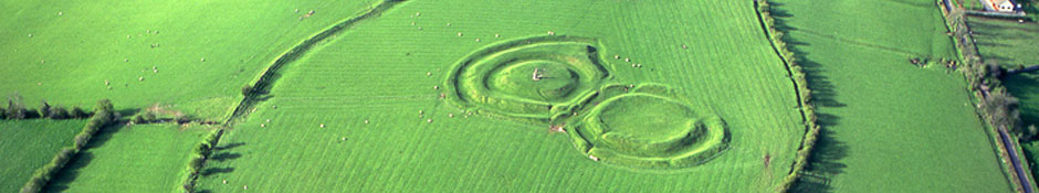 Hill of Tara Aerial View (abstract detail photo)s